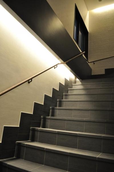 MNハウス (階段)