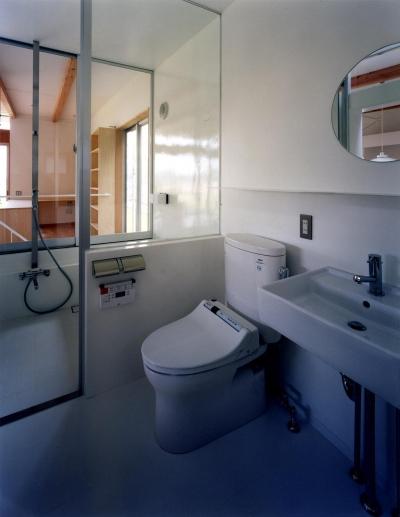 トイレ (28坪の大きな家)