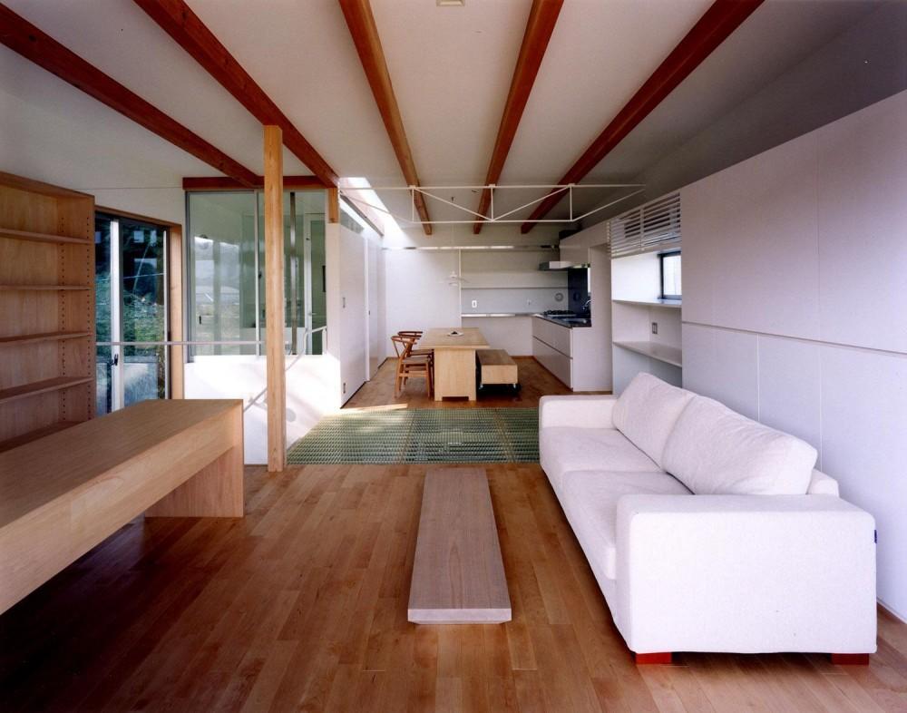 28坪の大きな家 (リビング~ダイニング)
