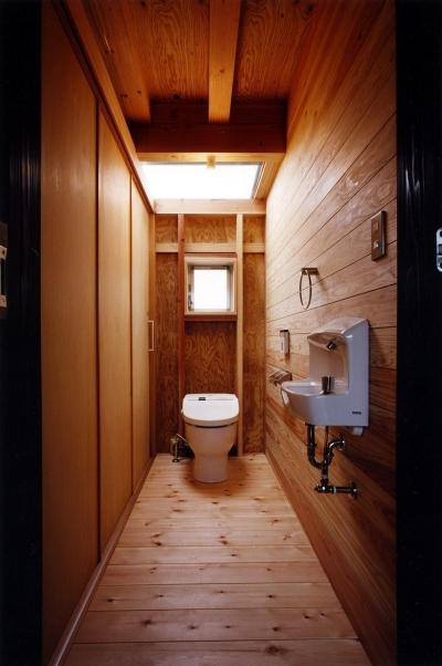 トイレ (木造スケルトンの家)