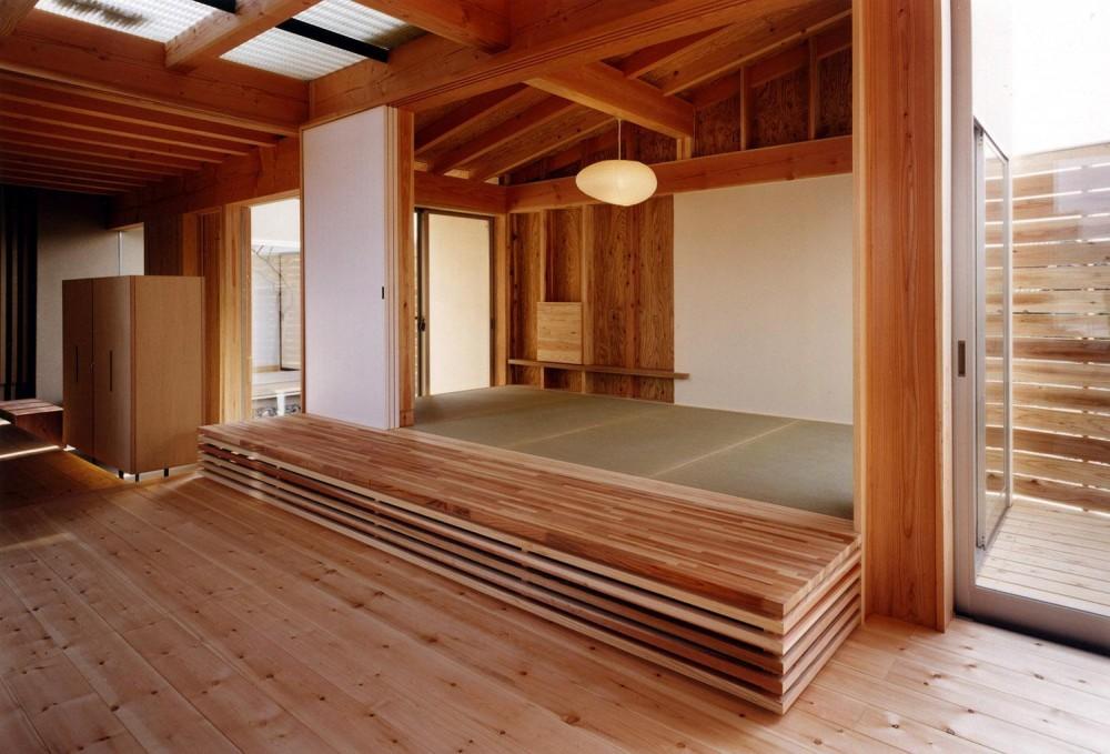 木造スケルトンの家 (和室)
