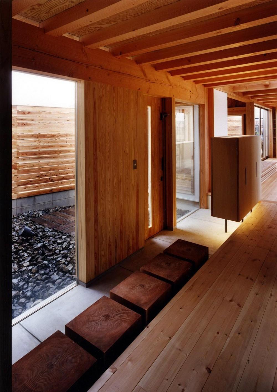 木造スケルトンの家 (内観)