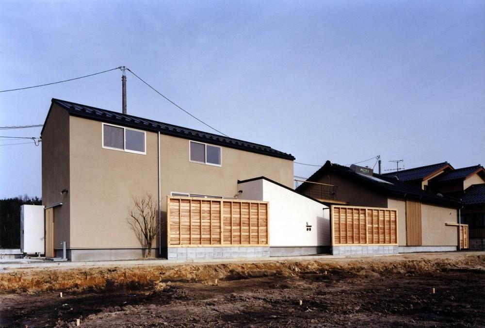 木造スケルトンの家 (外観)