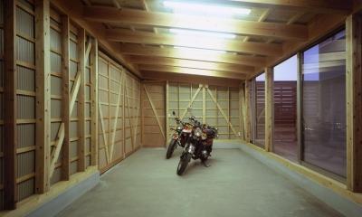 ガレージの家 (ガレージ)