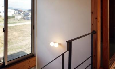 ガレージの家 (階段)