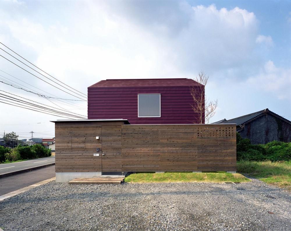 床段差の家 (外観)