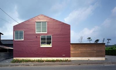 床段差の家