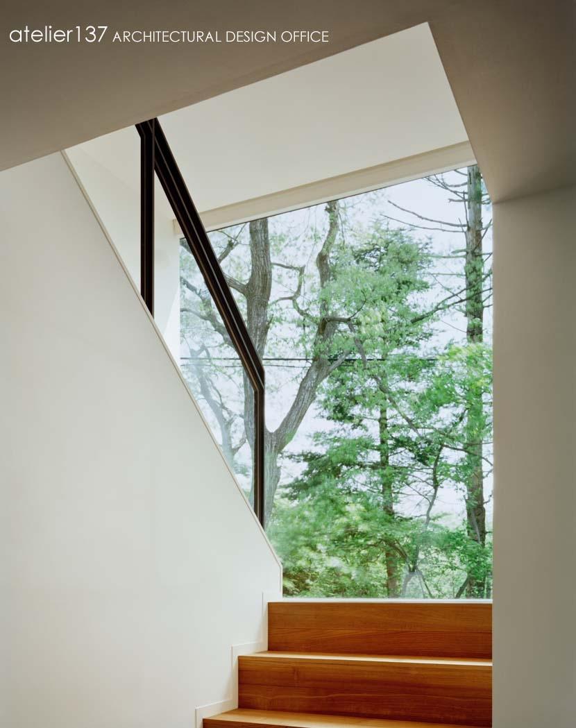 015軽井沢Tさんの家の部屋 階段