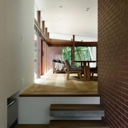 029那須Hさんの家 (玄関ホール)