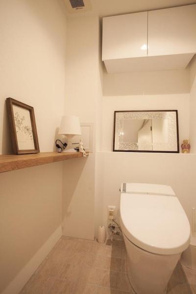 トイレ (raffine —築30年、100m²の団地で手に入れた至福)
