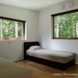 029那須Hさんの家 (寝室)