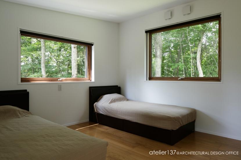 029那須Hさんの家の部屋 寝室