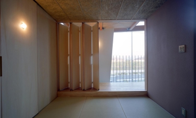 階段の家 (和室)