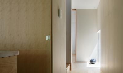 031軽井沢Tさんの家 (廊下)
