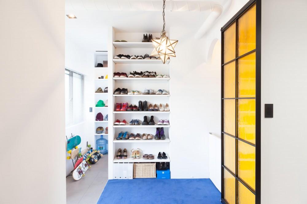 リノベーション・リフォーム会社:ブルースタジオ「TOP UP!—たくさんの趣味を盛り込んだ機能的なお部屋」