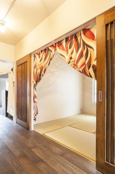 寝室 (風光月花—中央通りの先にある花咲く広場)