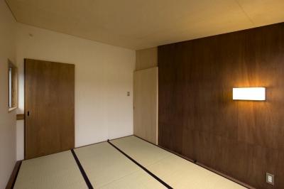 寝室 (囲炉裏の家)