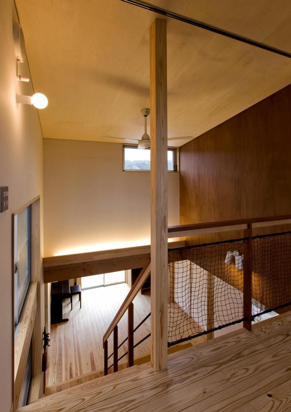 囲炉裏の家 (廊下)