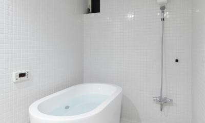 019軽井沢Mさんの家 (浴室)