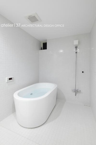 浴室 (019軽井沢Mさんの家)