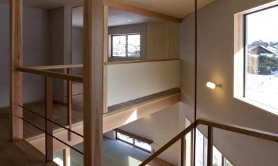 六角形の家 (廊下)