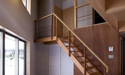 六角形の家 (階段)