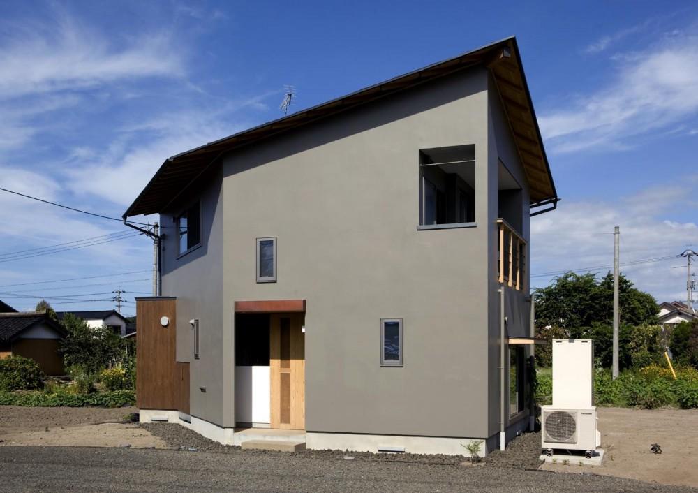 外観 (六角形の家)