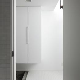 019軽井沢Mさんの家 (玄関)