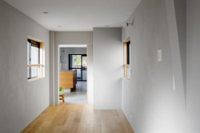 寝室 (通り土間の家)