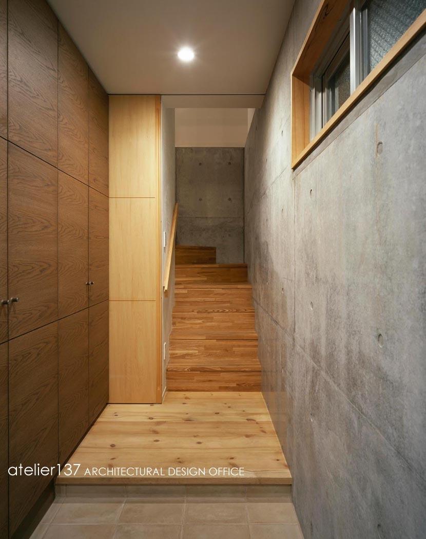 011船橋Kさんの家 (階段)