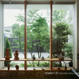 002八潮Fさんの家 (玄関ギャラリー)