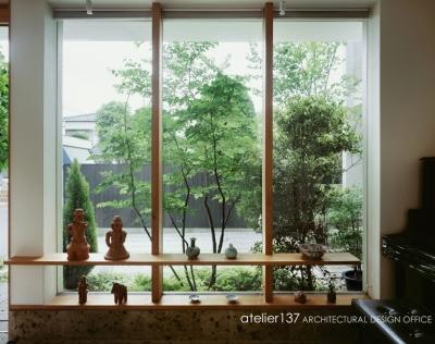 玄関ギャラリー (002八潮Fさんの家)