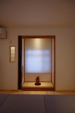 陽廻りの家 (床の間)