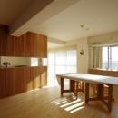 K+Yアトリエ一級建築士事務所の住宅事例「南行徳Y邸マンションリフォーム」