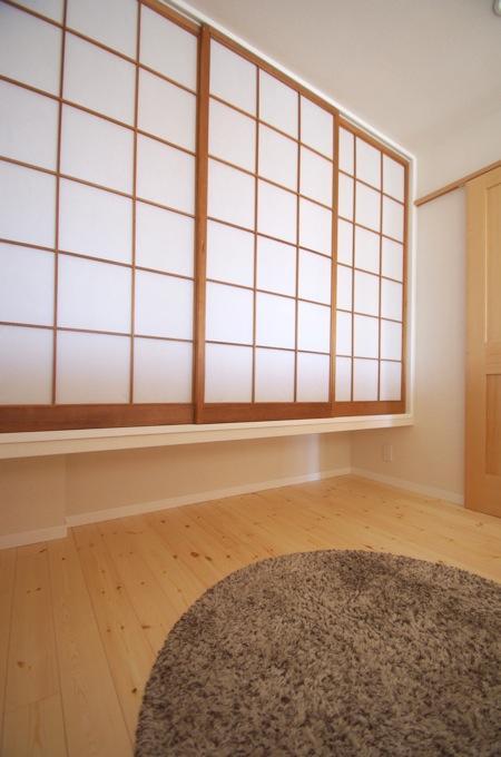 南行徳Y邸マンションリフォーム (障子を収納の戸に)
