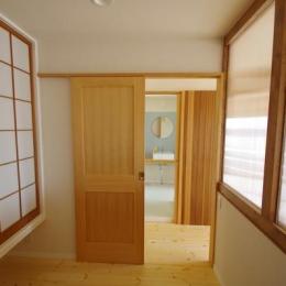 南行徳Y邸マンションリフォーム (扉の向こう側)