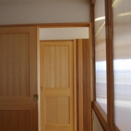 南行徳Y邸マンションリフォーム (扉の向こう側に扉)