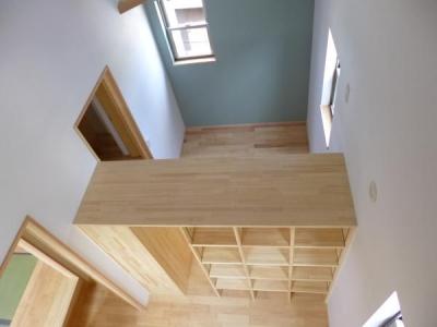 市川市Kさんの家新築工事 (家具で間仕切り1)