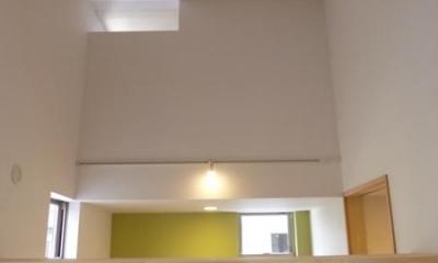 家具で間仕切り2|市川市Kさんの家新築工事