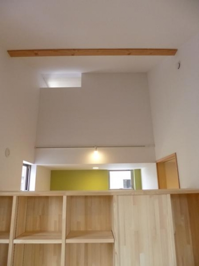 市川市Kさんの家新築工事 (家具で間仕切り2)