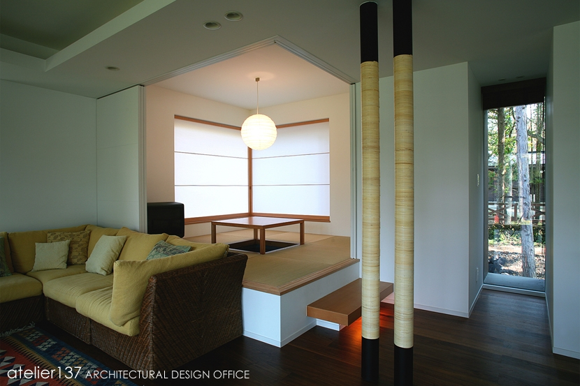 006軽井沢Kさんの家の部屋 和室