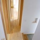廊下と玄関とニッチ
