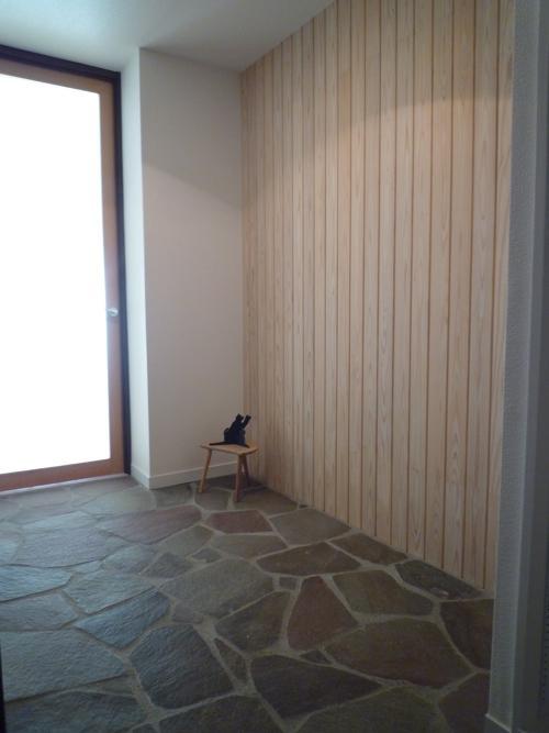 aaa邸リフォームの部屋 鉄平石の土間