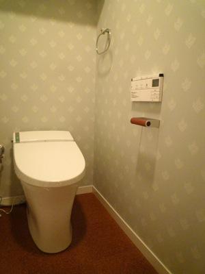 aaa邸リフォームの部屋 トイレ