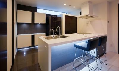 デザインに凝る キッチン色々-1