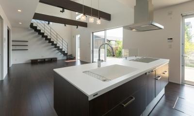 キッチン デザインに凝る キッチン色々-1