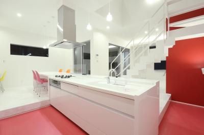 デザインに凝る キッチン色々-1 (キッチン)