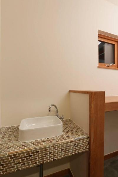 手洗いコーナー (S's residence)