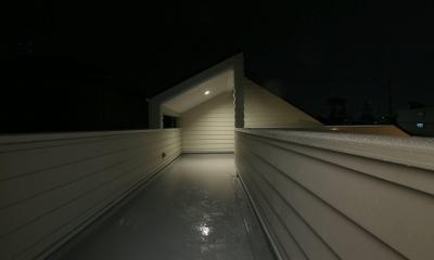 S's residence (バルコニー)