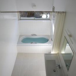 012軽井沢Nさんの家 (バスルーム)